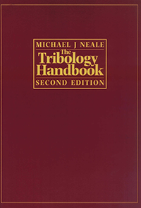 Image of the cover of the tribology handbook