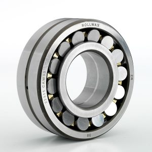 3D view of a large spherical roller bearing