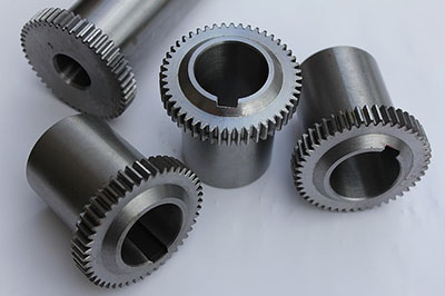 image showing several machined gears